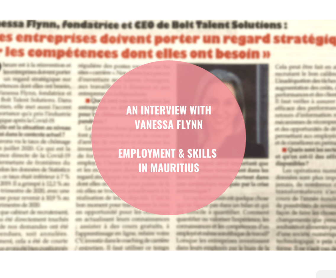 SKILLS AND EMPLOYMENT IN MAURITIUS