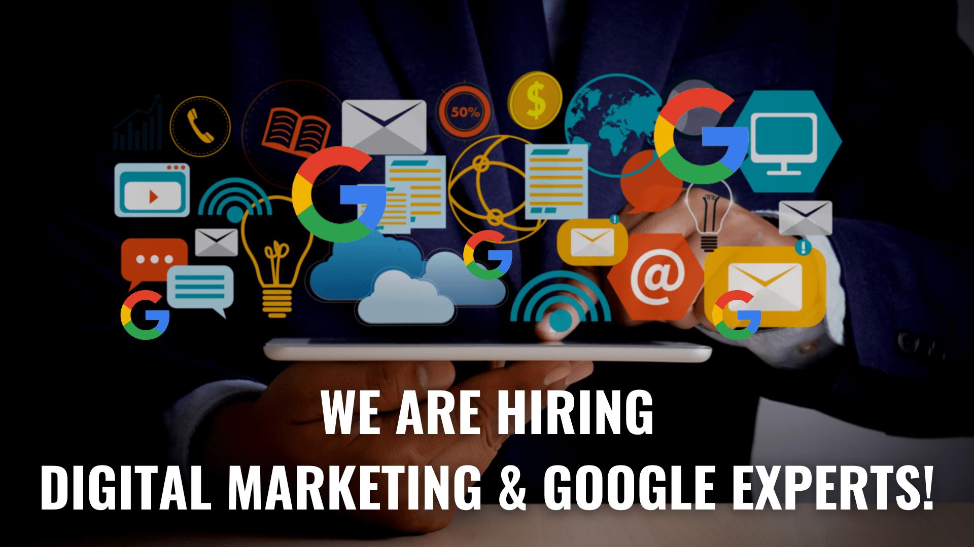 Digital Marketing Job South Africa Google